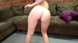 Attractive pornstar persuades a guy spunkflow with her hands
