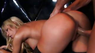 That horny harlot loves to feel big sizes innermore her body
