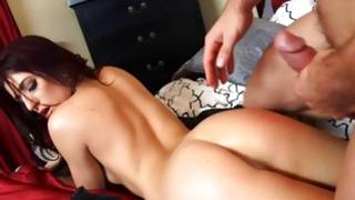 Deep oral pleasure and handjob by a wicked little girlfriend