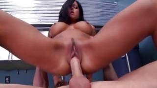 Mexican bitch loves to fuck on the floor