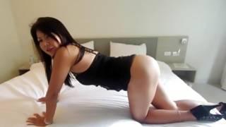 Nasty thai Bird cheats with a neighbor and sucks a cock