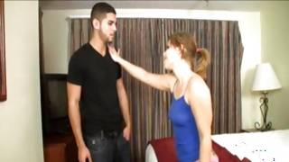 Twiggy boylike seduces her roommate to become his girlfriend